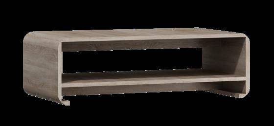 Konferenční stolek LINK, dub sonoma  - 1