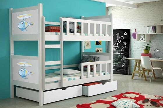 Dětská patrová postel PINOKIO 2  - 1