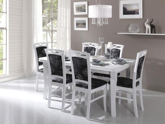 Jídelní stůl S3 MDF 140x80(+40) cm