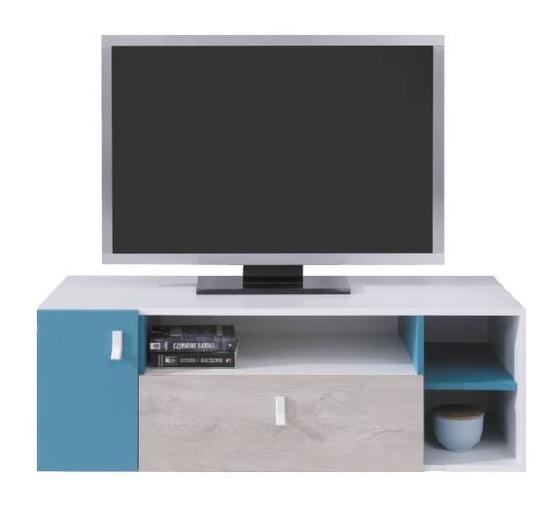 TV stolek PL10 | Planet, bílá