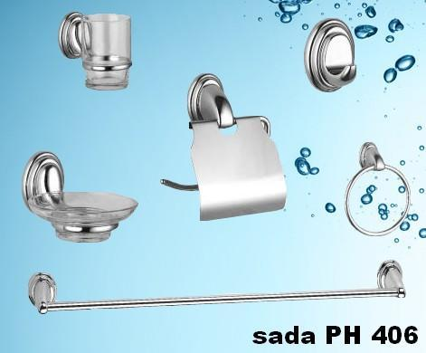 Sada koupelnových doplňků PH 406  - 1