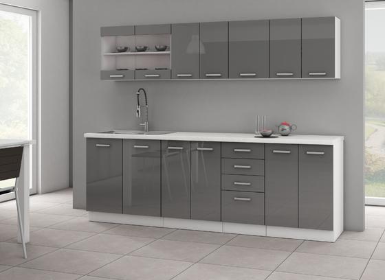 Kuchyňská sestava SOŇA II, šedý lesk