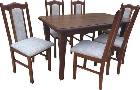 Rozkládací stůl S4 MDF 160x90(+50) cm  - 1