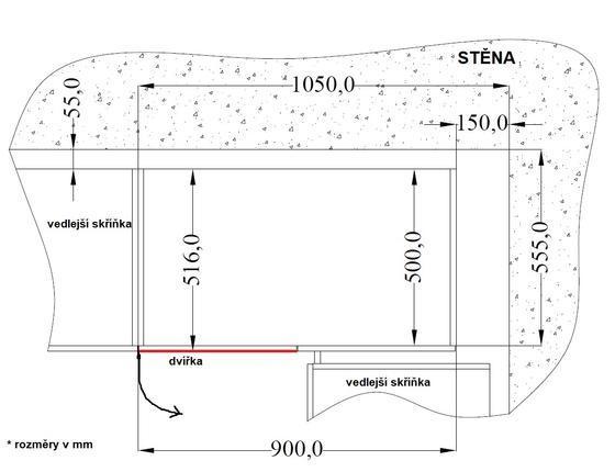 Rohová spodní skříňka 90 ND VIGO MATERA / DUB LANCELOT  - 2