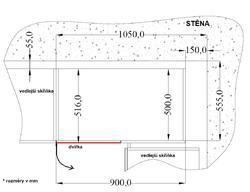 Rohová spodní skříňka 90 ND VIGO MATERA / DUB LANCELOT - 2/2