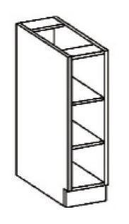 Spodní regál 30 D OTW ARTISAN CAPPUCCINO  - 2