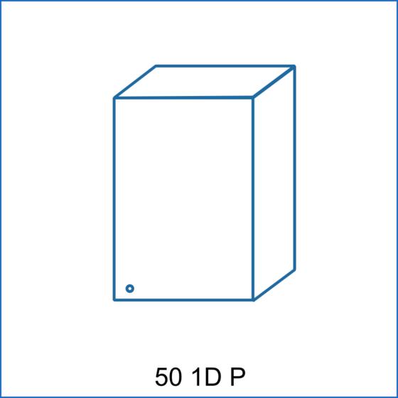 Horní skříňka 50 1D REMI  - 2