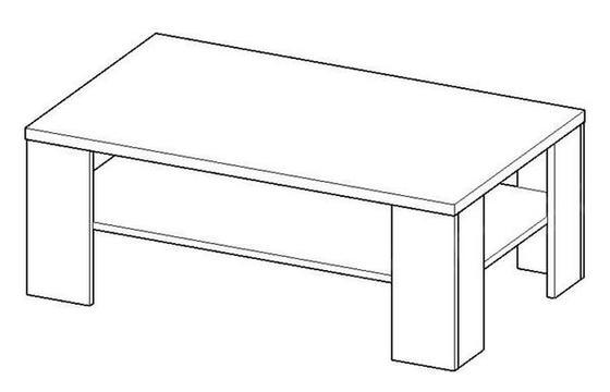 Konferenční stůl Cinzano  - 2