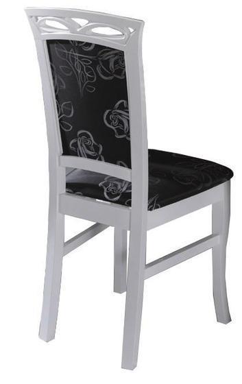 Jídelní sestava, stůl S3 a židle K3, bílá  - 2