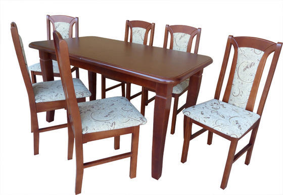 Rozkládací stůl S4 MDF 140x80 (+40) cm  - 2