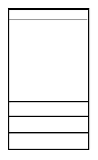 Vysoká skříň Arabela | BS40  - 2