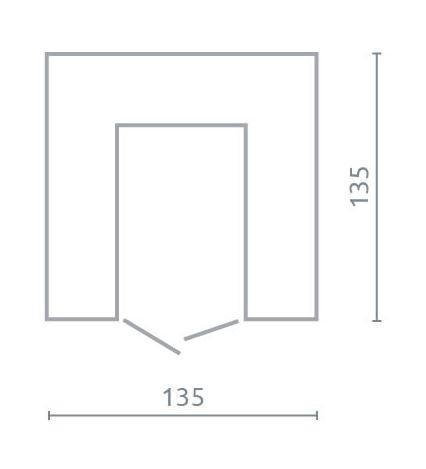 Rohová skříň PL1 | Planet, bílá  - 2