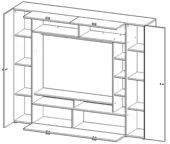 Obývací stěna VIGO  - 2