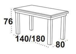 Stůl jídelní rozkládací WENUS 2 L - olše - 2/2