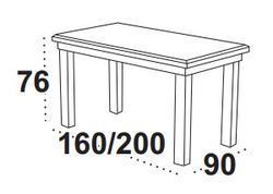 Stůl jídelní rozkládací LUDWIK I - 2/2