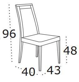 Židle s čalouněním Boss VII  - 2