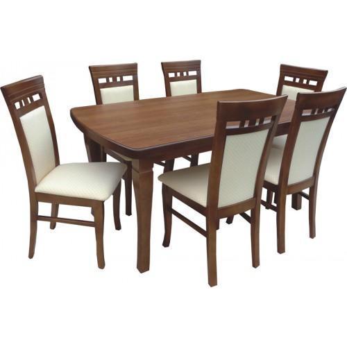 Rozkládací stůl S5 MDF 160x90(+50) cm  - 2