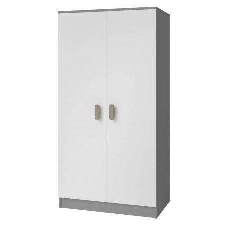Studentský pokoj Ariela šatní skříň 2D 06- šedá  - 2