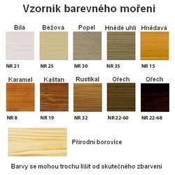 Regál borovicový - 2/2