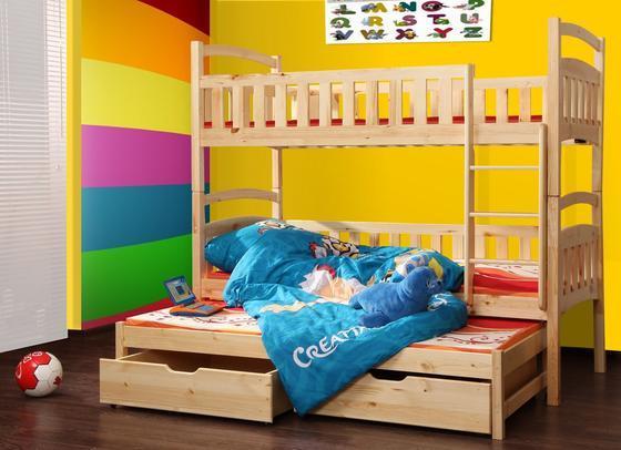 Patrová postel FOX 7 s přistýlkou  - 2