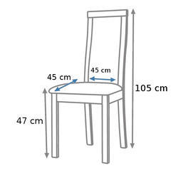 Čalouněná židle K20 - 2/3