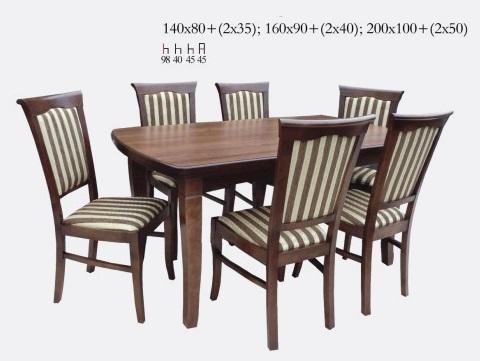Čalouněná židle K9  - 2