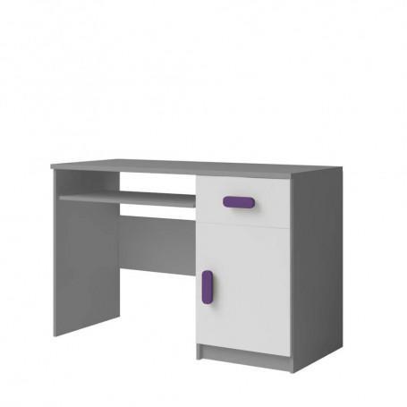 Studentský pokoj Ariela psací stůl 110 šedý bílý  - 3