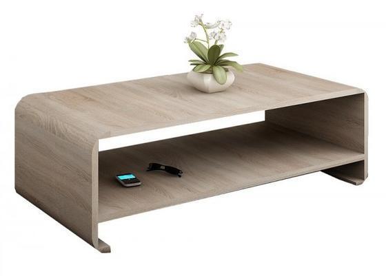 Konferenční stolek LINK, dub sonoma  - 3