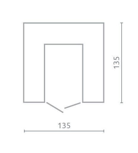 Rohová skříň PL1 | Planet, černá  - 3