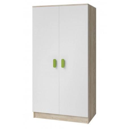 Studentský pokoj Ariela šatní skříň 2D - sonoma  - 3