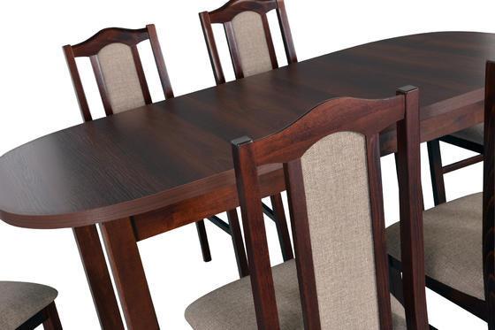 Stůl jídelní rozkládací WENUS 1 - ořech  - 3