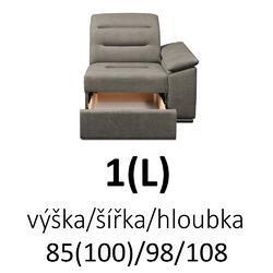 Sedací souprava EXCELENT 2F(P)-R-1(L) - 4/5