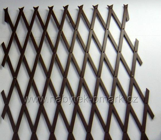 Plastová ozdobná mřížka, 90x180cm  - 4
