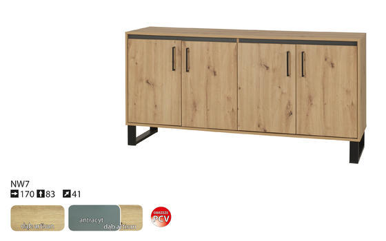 Komoda NEWADA 170 NW-7  - 4