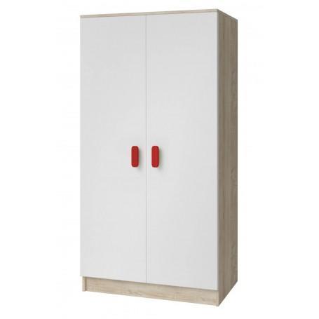 Studentský pokoj Ariela šatní skříň 2D - sonoma  - 4