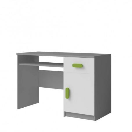 Studentský pokoj Ariela psací stůl 110 šedý bílý  - 5