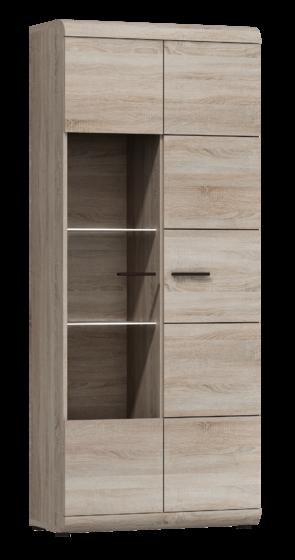 Obývací stěna LEVIS, dub sonoma  - 5