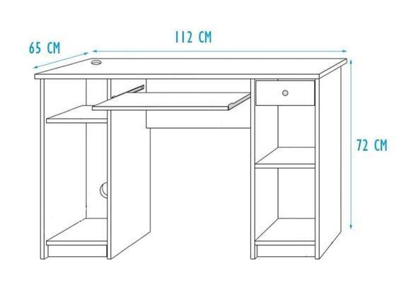 Patrová postel s psacím stolem Unit  - 5
