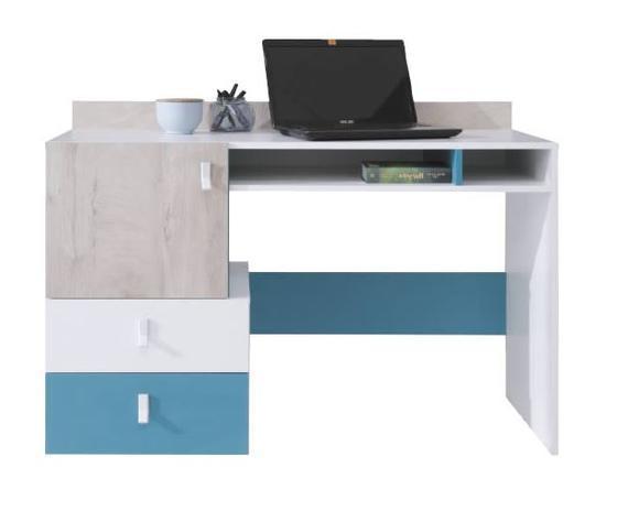 Nábytková sestava A | PLANET bílá, dub, modrá  - 5