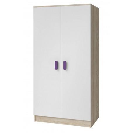 Studentský pokoj Ariela šatní skříň 2D - sonoma  - 5