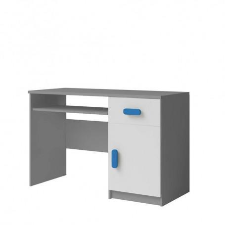 Studentský pokoj Ariela psací stůl 110 šedý bílý  - 6