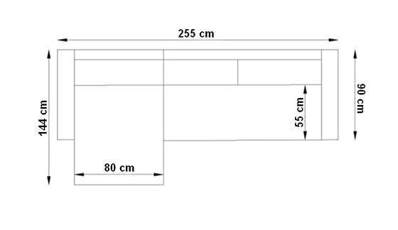 Sedací souprava rohová FENIX  - 6