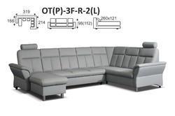 Sedací souprava THEA OT+3F+R+2 - 6/6