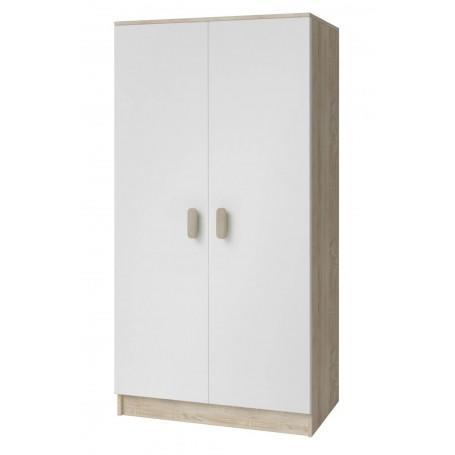 Studentský pokoj Ariela šatní skříň 2D - sonoma  - 6