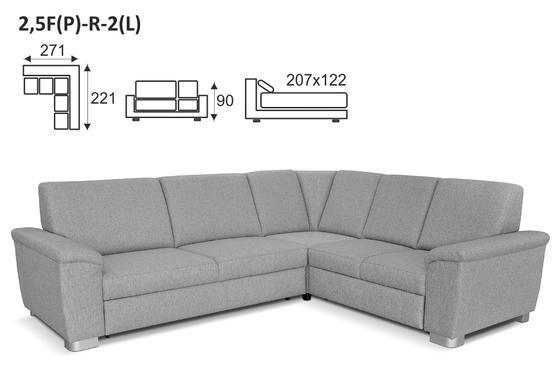 Sedací souprava WENDY 2,5F-R-2 - látky VI. skupiny - 6
