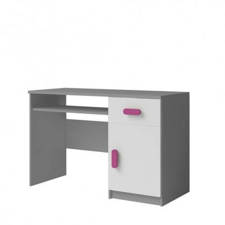 Studentský pokoj Ariela psací stůl 110 šedý bílý  - 7