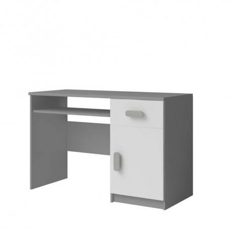 Studentský pokoj Ariela psací stůl 110 šedý bílý  - 8